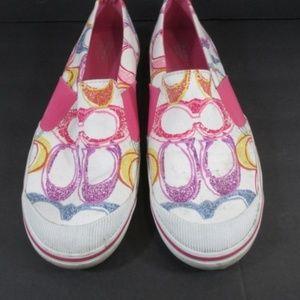 Coach Shoes - COACH KAYCEE Signature C Slip-On Womens Sneaker